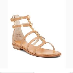 SEYCHELLES Leather Dance On Gladiator Sandals 9.5
